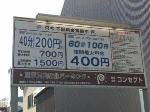 コンセプト嵐電嵐山駅北パーキング