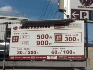 リノパーキング阪急嵐山駅前